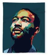 John Legend Fleece Blanket