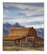 John Moulton Barn Fleece Blanket