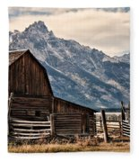 John Moulton's Barn Fleece Blanket