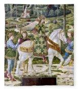 John Viii Paleologus Fleece Blanket