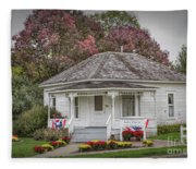 John Wayne Birthplace Fleece Blanket