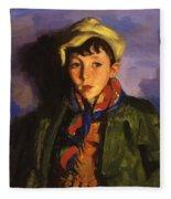 Johnnie Patton 1924 Fleece Blanket