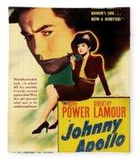 Johnny Apollo 1940 Fleece Blanket