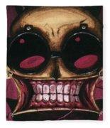 Johnny The Homicidal Maniac Fleece Blanket