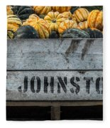 Johnston Fruit Farms Fleece Blanket