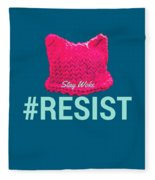 Join The Resistance Fleece Blanket