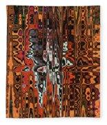 Jojo Abstract Fleece Blanket