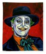 Joker Fleece Blanket