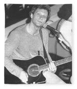 Jon Bon Jovi Acoustic Fleece Blanket