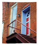 Jonesborough Tenessee - Upstairs Neighbors Fleece Blanket