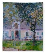 Jonkerhshuis At Groot Constantia Fleece Blanket