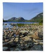 Jordan Pond No.1 Fleece Blanket