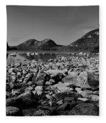 Jordan Pond No.2 Fleece Blanket