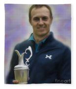 Jordan Spieth Fleece Blanket