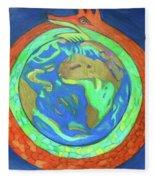 Jormungandr Fleece Blanket