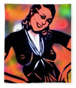 Josephine Baker Fleece Blanket