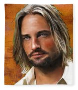 Josh Holloway Fleece Blanket