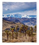 Joshua Tree National Park 2 Fleece Blanket
