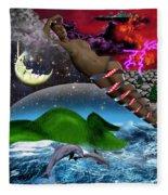 Journey II De Fleece Blanket