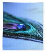 Journey Of Blue Fleece Blanket