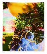 Joy Of Christmas 2 Fleece Blanket