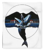 Joy Robert Lyn Nelson Fleece Blanket