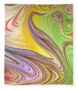 Joyful Flow Fleece Blanket