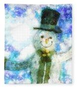 Christmas Cheer Fleece Blanket