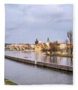 Joyful River Fleece Blanket