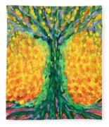 Joyful Tree Fleece Blanket