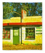 Juarez Motel Fleece Blanket