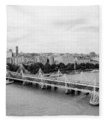 Jubilee Bridge Fleece Blanket