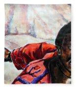 Judas - Too Far Fleece Blanket