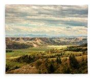 Judith River Breaks Fleece Blanket