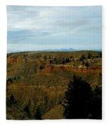 Judith River Cliffs Fleece Blanket