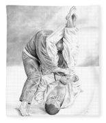 Jiu Jitsu Fundamentals The Armbar Fleece Blanket