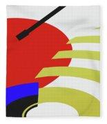 Jukebox Fleece Blanket