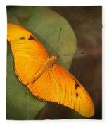 Julia Dryas Butterfly-2 Fleece Blanket