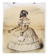 Julia Pastrana, Bearded Lady Fleece Blanket