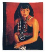 Julianita 1922 Fleece Blanket