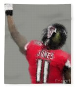 Julio Jones Fleece Blanket