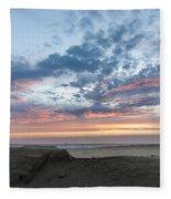 July 2015 Sunset Part 2 Fleece Blanket