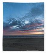 July 2015 Sunset Part 4 Fleece Blanket