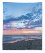 July 2015 Sunset Part 5 Fleece Blanket