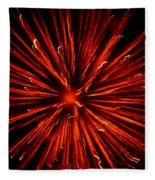 July 4 Fireworks Fleece Blanket