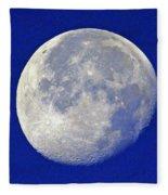 D6b6303-july 4th Moon 2015  Fleece Blanket
