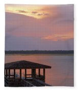 July Evening Fleece Blanket
