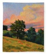 July Thunderhead Fleece Blanket