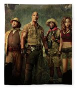Jumanji Welcome To The Jungle 2.0 Fleece Blanket