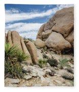 Jumbo Rocks Fleece Blanket